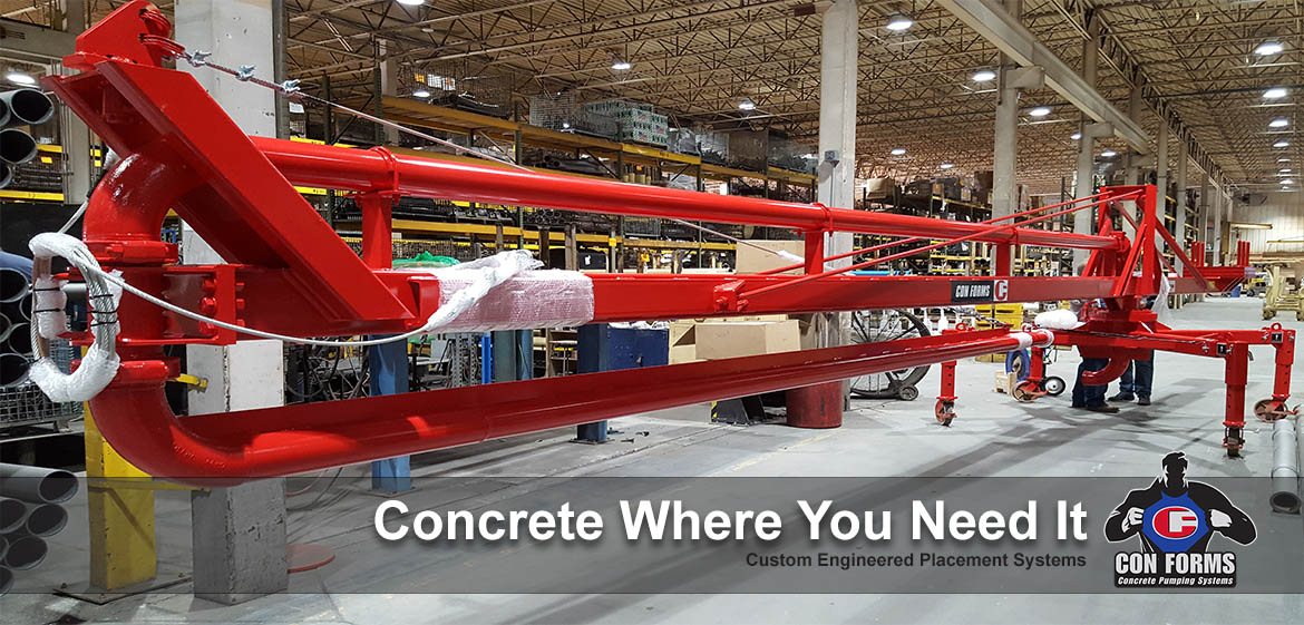 concrete placement systems